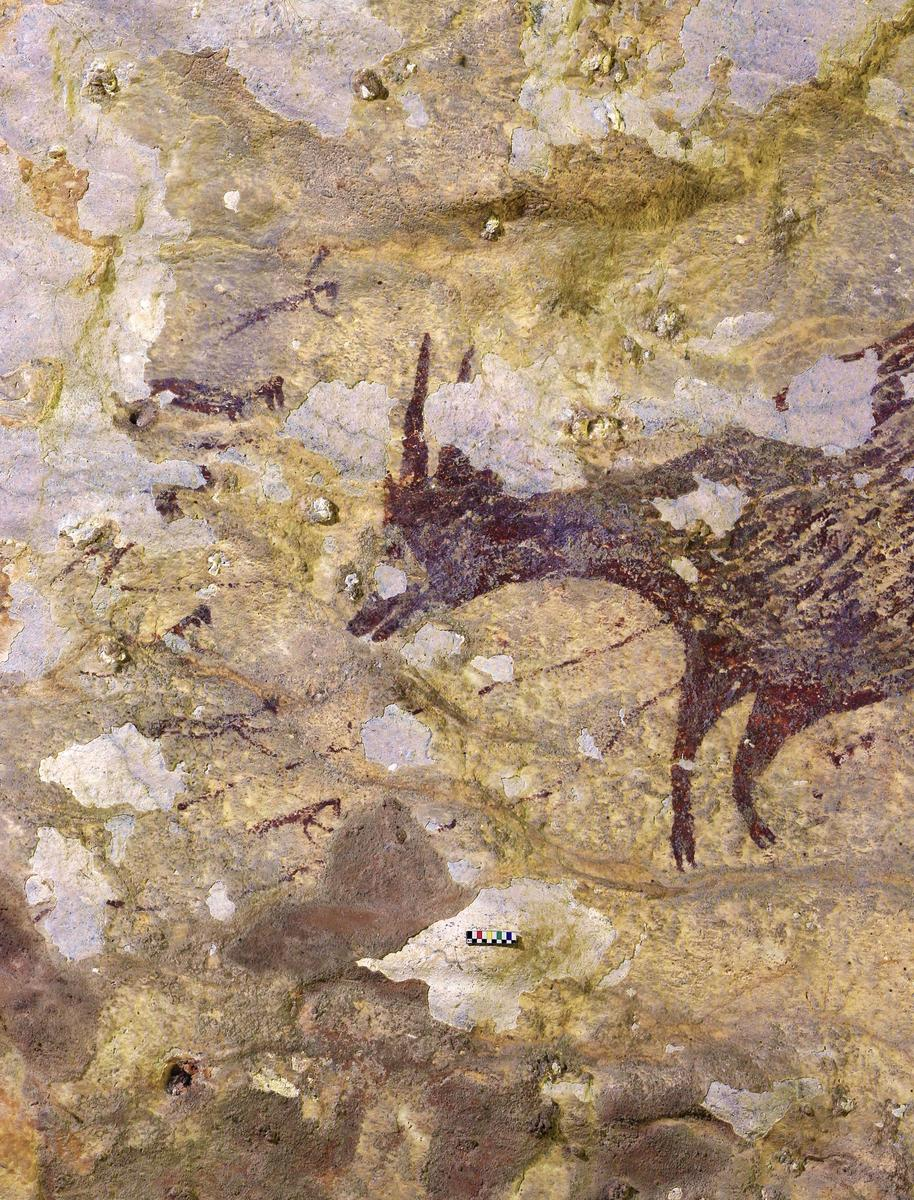 Indonesian cave art is earliest known record of'story telling',...