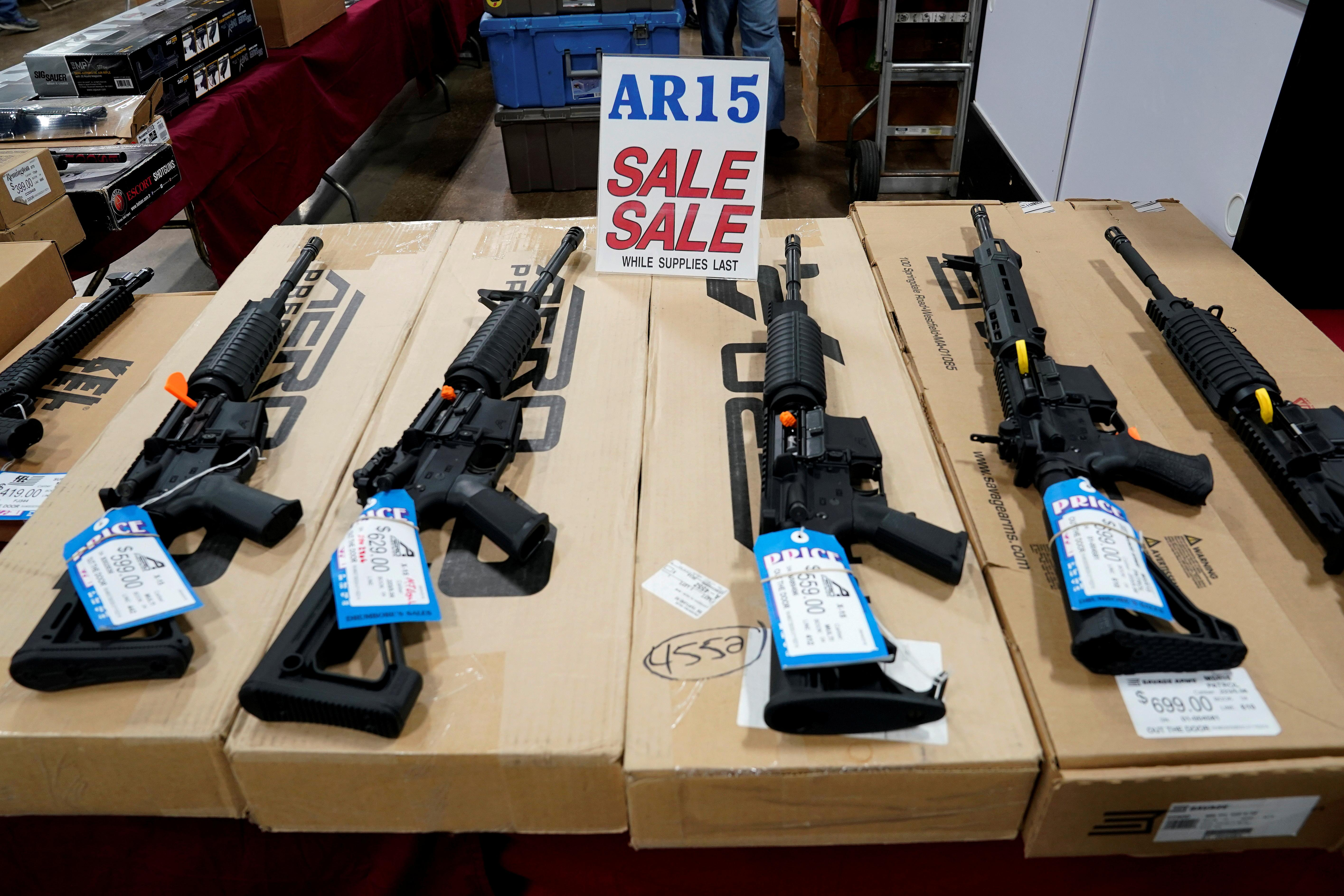Washington state seeks to ban sale of 'assault weapons,' high...