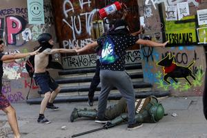 Violence in Chile resurges
