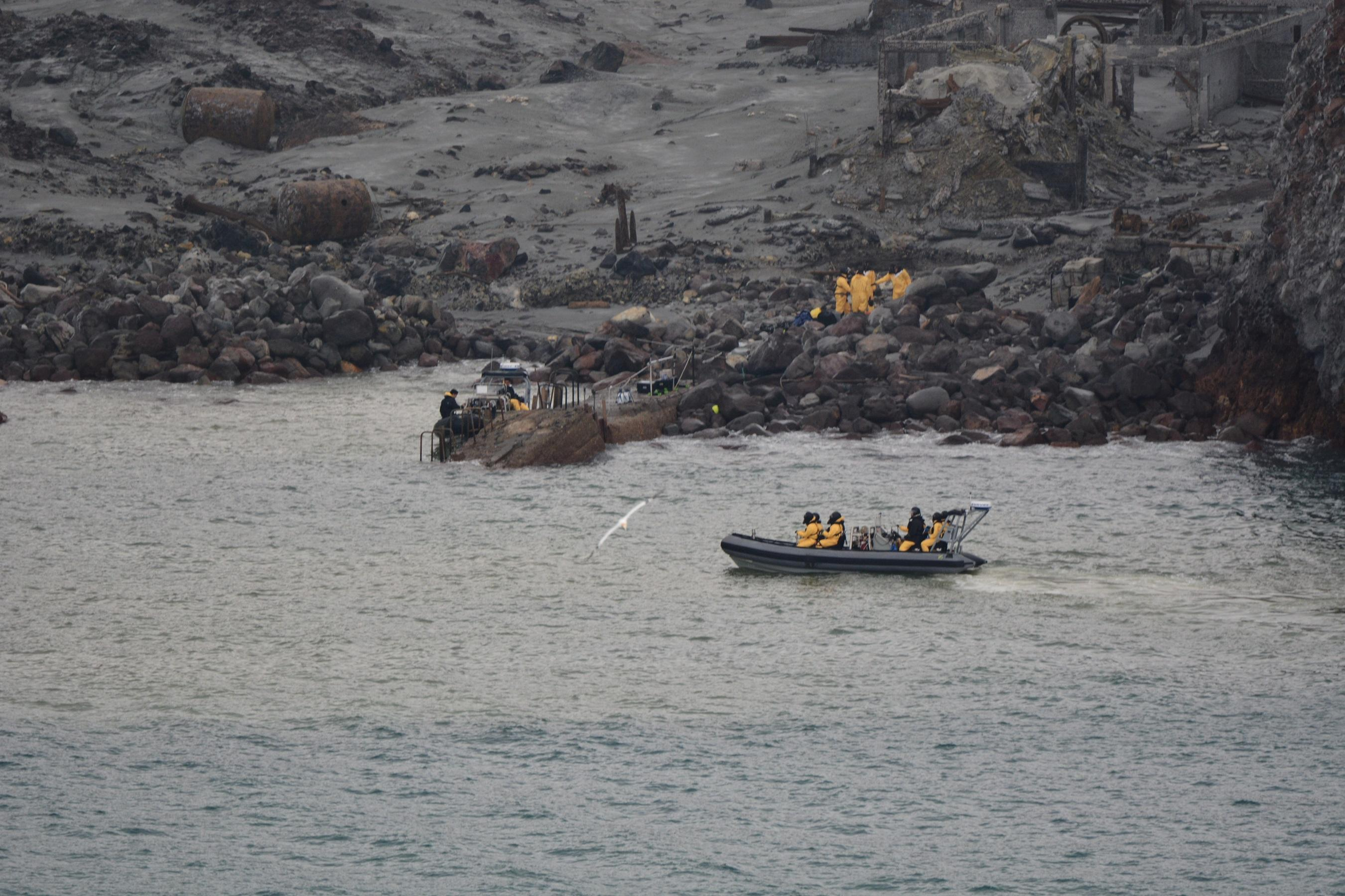 Six bodies retrieved from New Zealand volcanic island as survivors...