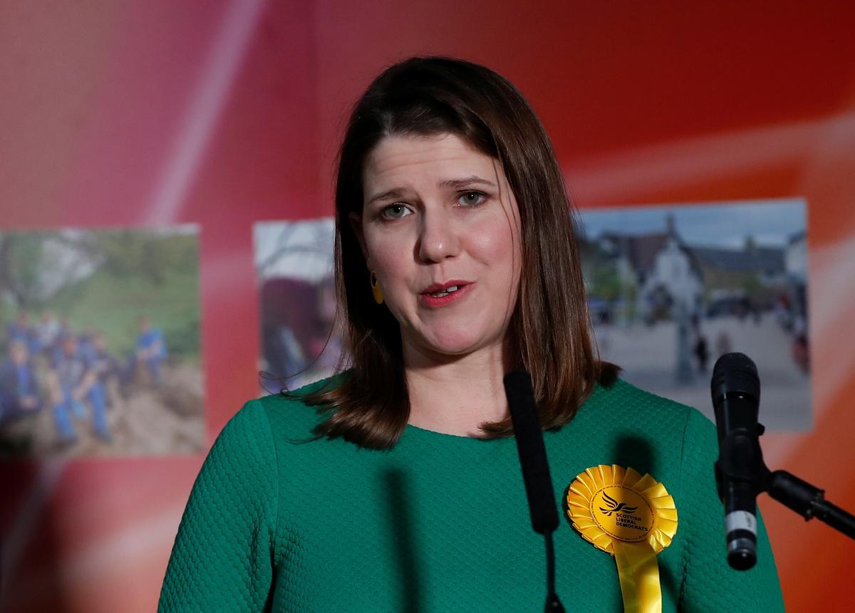 UK Liberal Democrat leader Swinson loses seat to Scottish National...