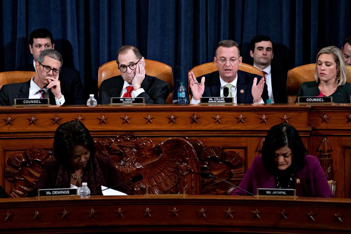 Rattling Republicans, U.S. House committee delays impeachment vote...