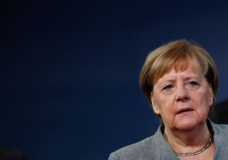 First talk to partners, cautious Merkel says on carbon border tax