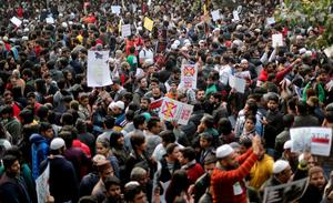 Protests flare over India's citizenship law