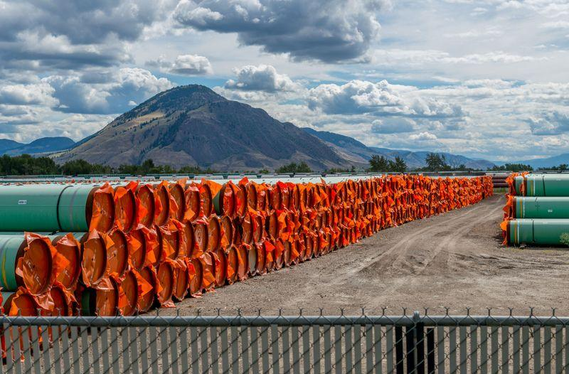 Trans Mountain oil pipeline faces latest legal challenge in Canada...