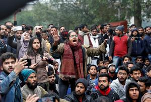 Protests over citizenship law spread across India