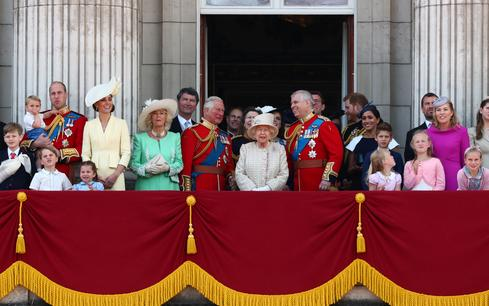 Car crash, rifts, and scandal: A tough year for the British royals