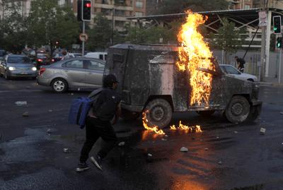 Two months of unrest rattle Chile