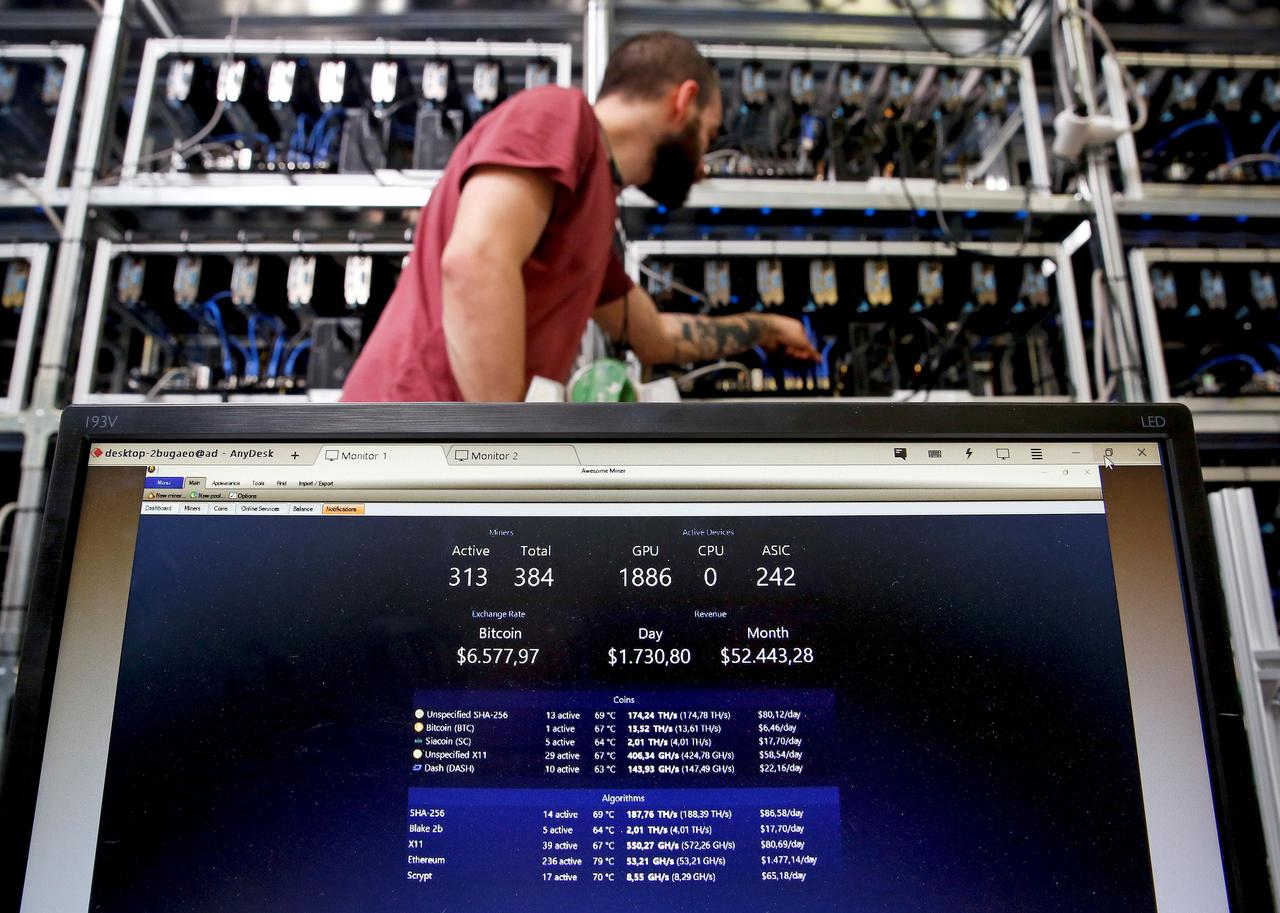 how do i set up my computer for cryptocurrency mining