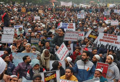 Protests rage across India over citizenship law