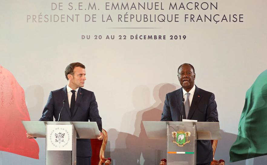Revamped West African Currency To Be Launched In 2020 Macron Reuters