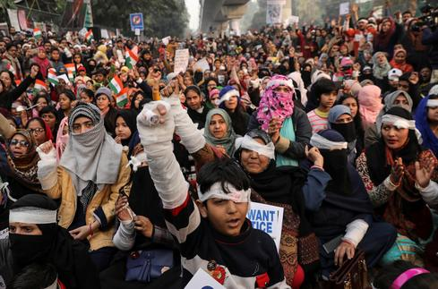 Protests in India against citizenship law