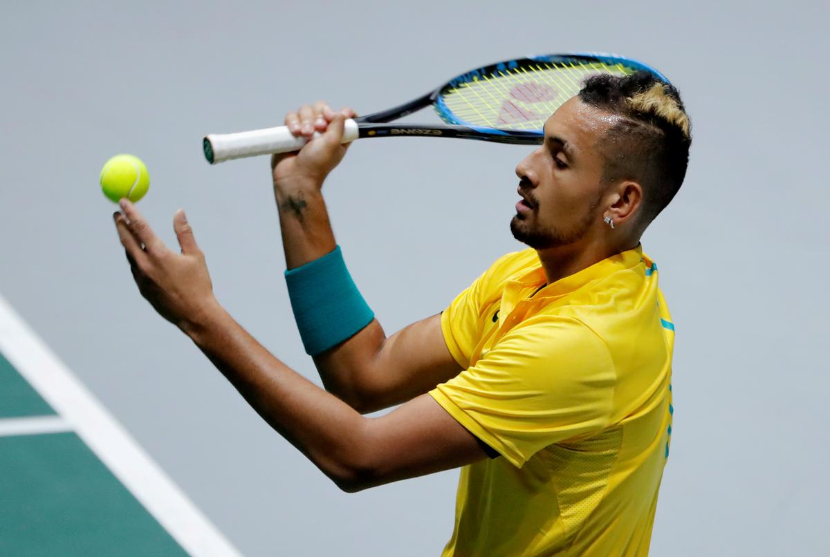 Kyrgios pledges money for victims of Australian bushfires