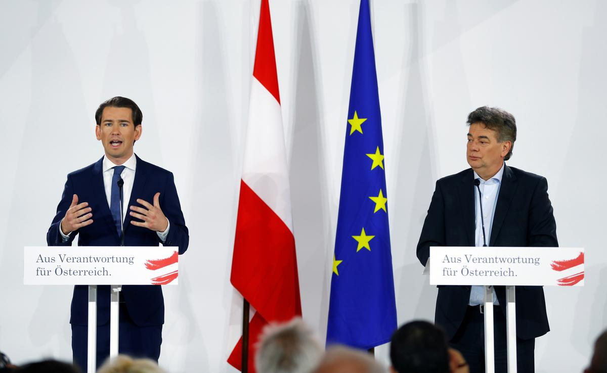 Austrian coalition deal includes headscarf ban, preventive custody