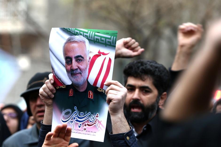 iran general killed in baghdad