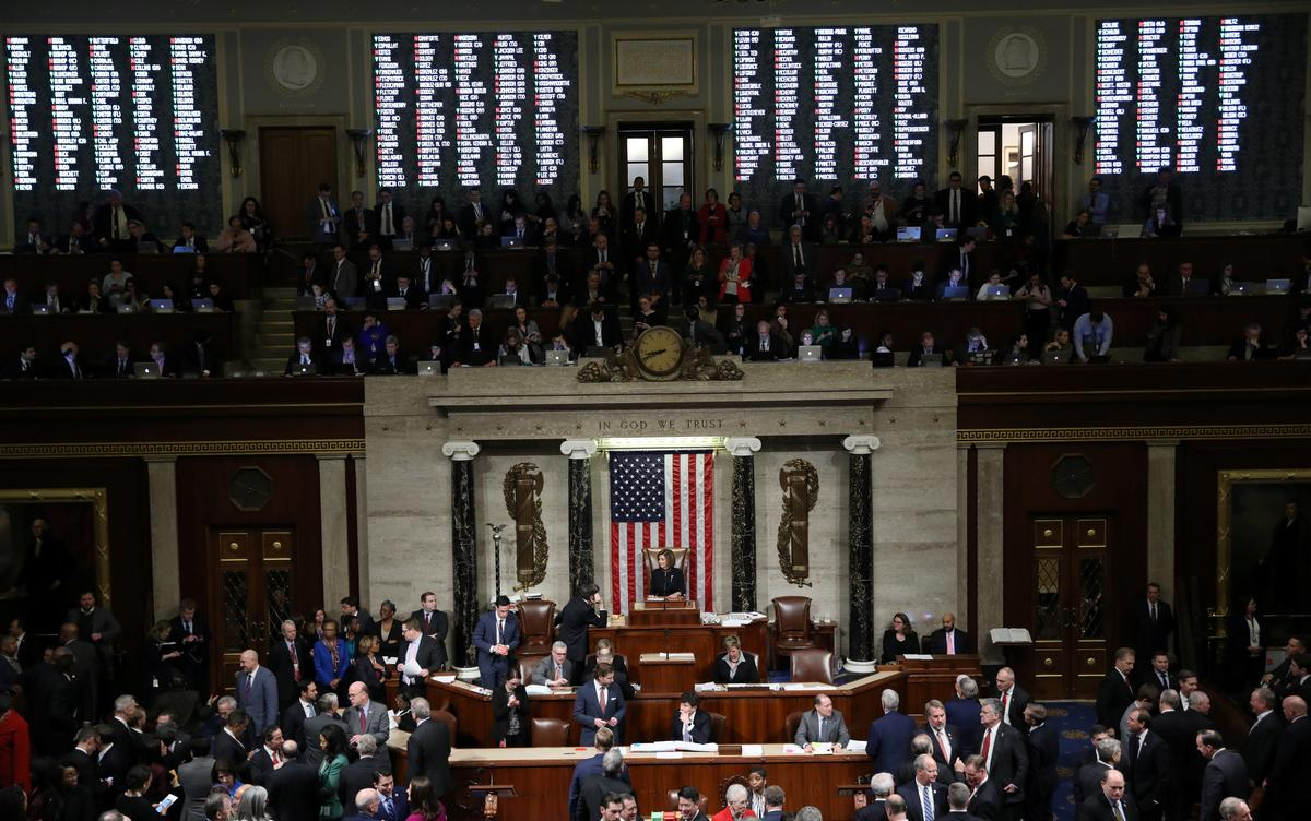 With Trump impeachment trial on hold, Senate to focus on 'ordinary business'