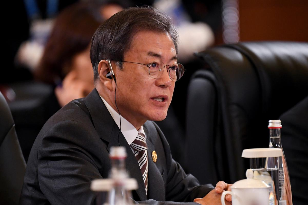 South Korea's Moon cites 'desperate need' for ways to improve ties with North