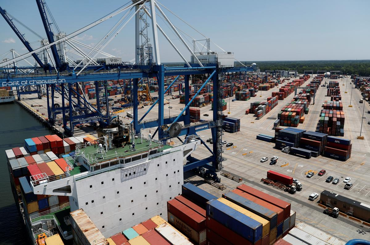 U.S. trade deficit at three-year low as imports tumble