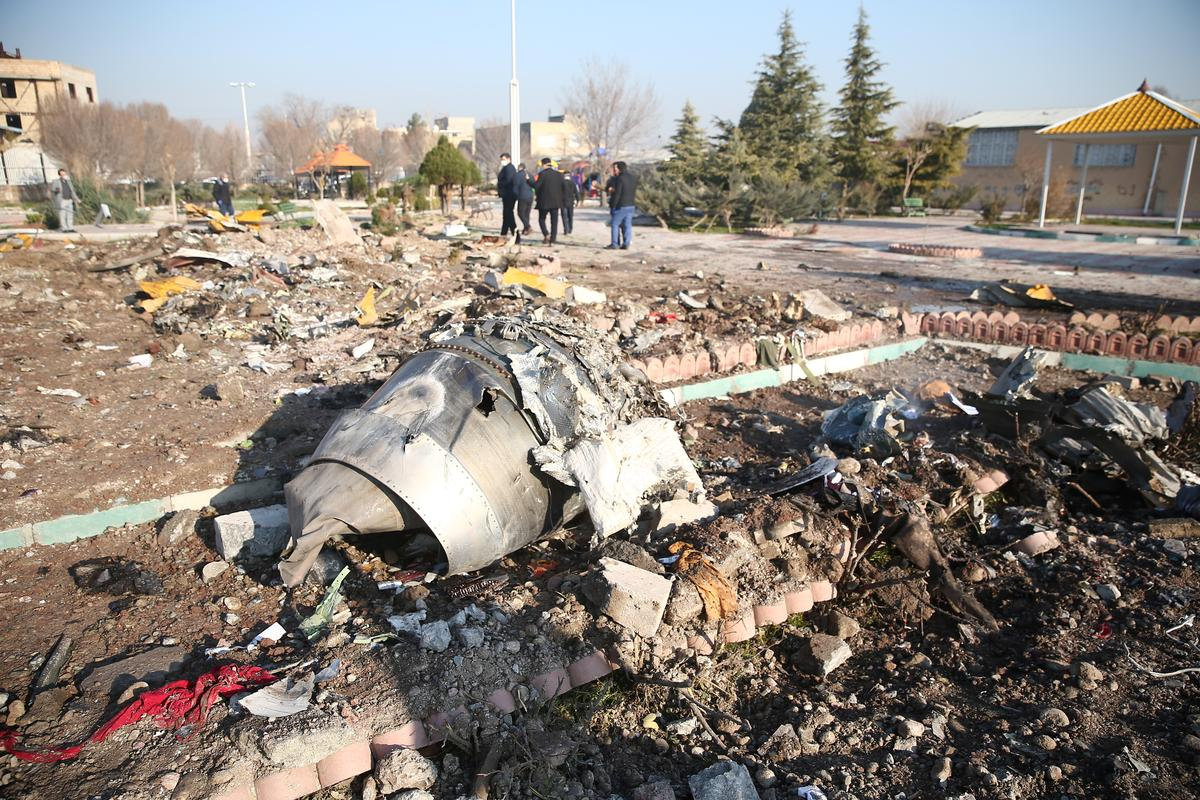 Boeing jet crashes in Iran with no survivors, security sources see technical cause