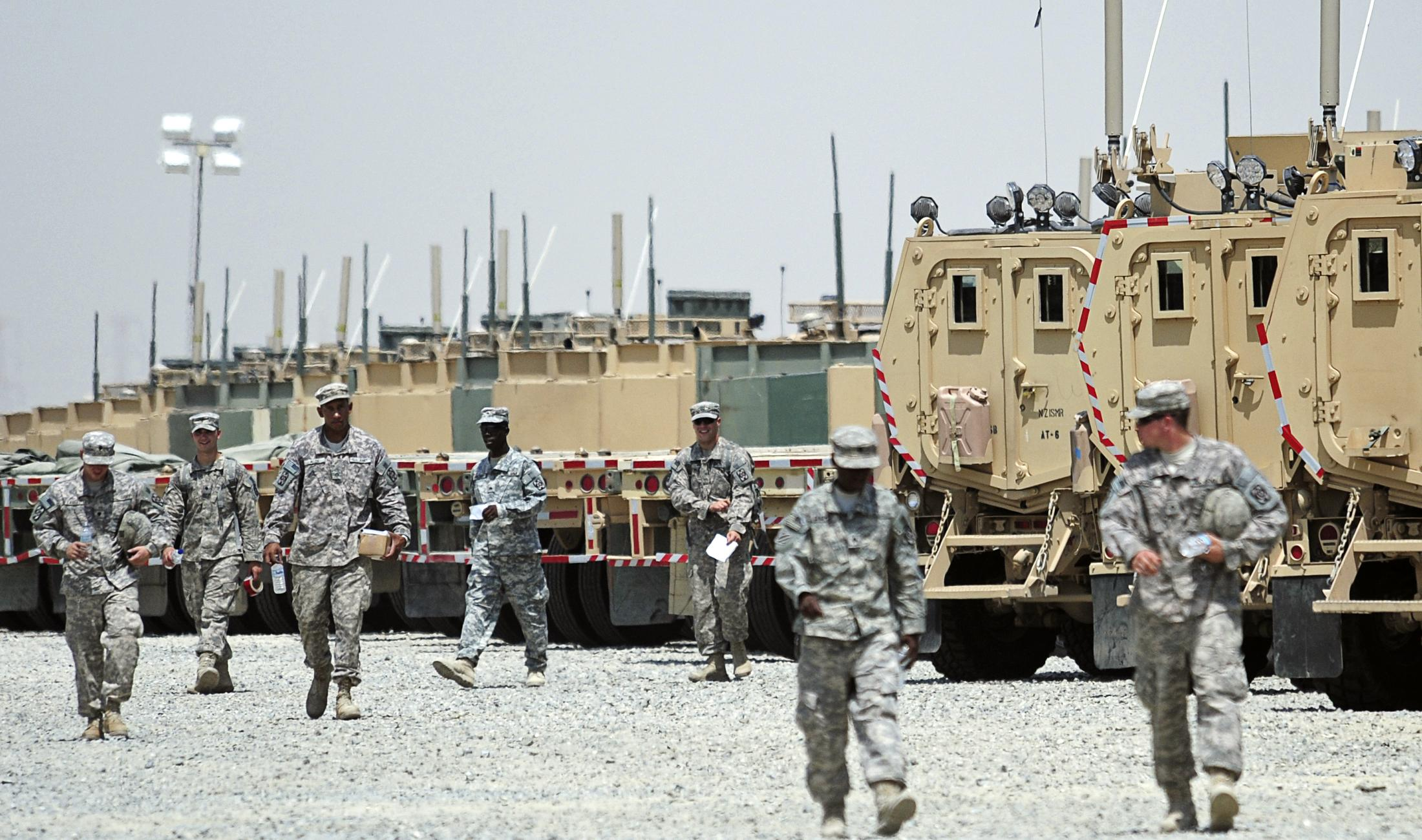 Kuwait receives letter saying all U.S. forces to leave in three...