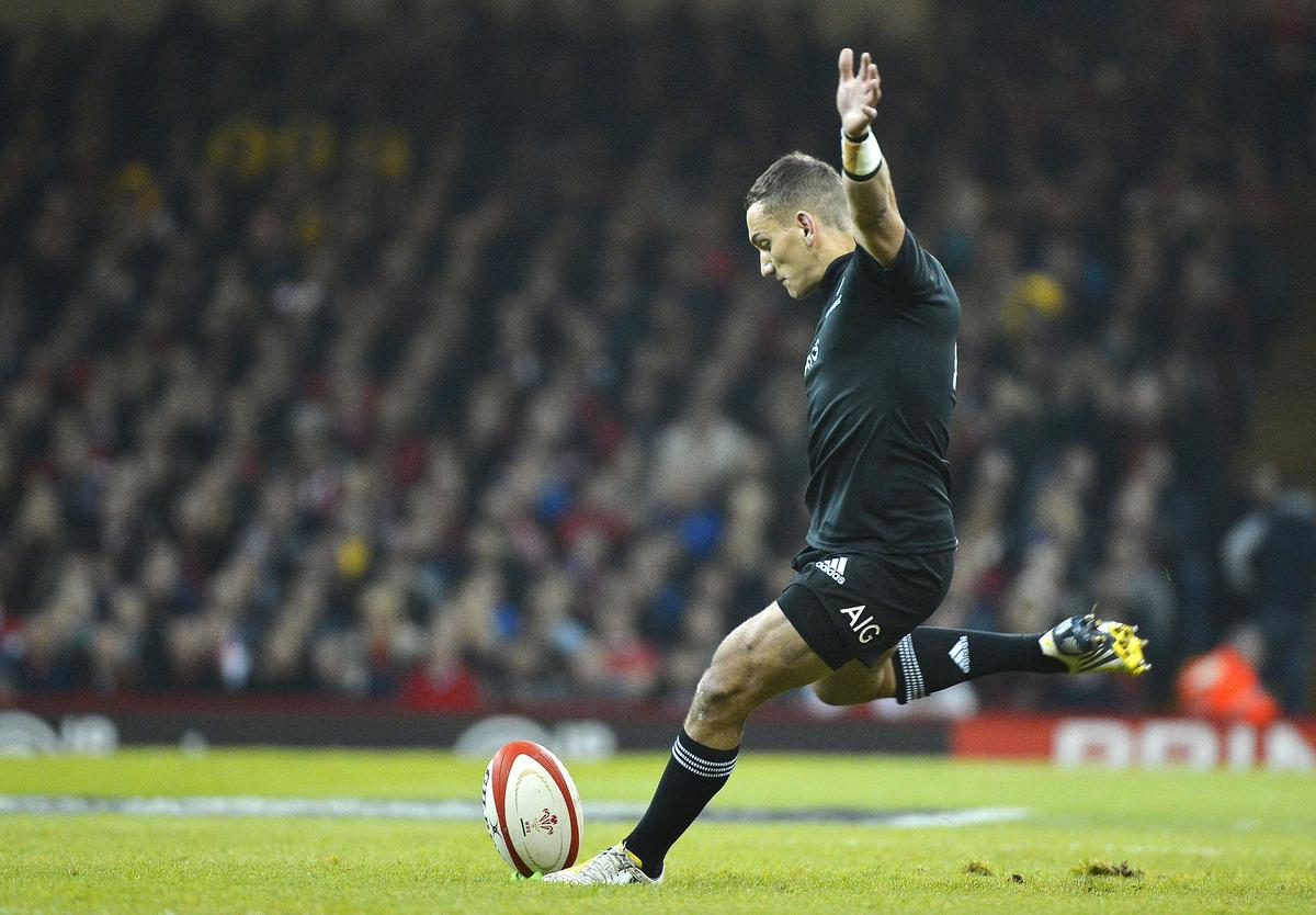Cruden plays down hopes of All Blacks recall in one-season homecoming