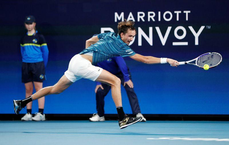 Fiery Russia beat Argentina in ATP Cup quarter-final, Australia advance