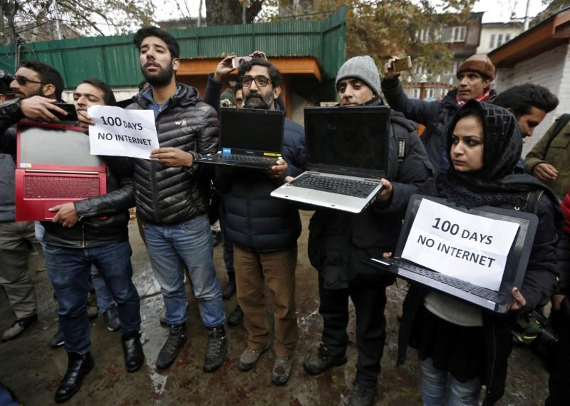 India's top court says indefinite Kashmir internet shutdown is illegal