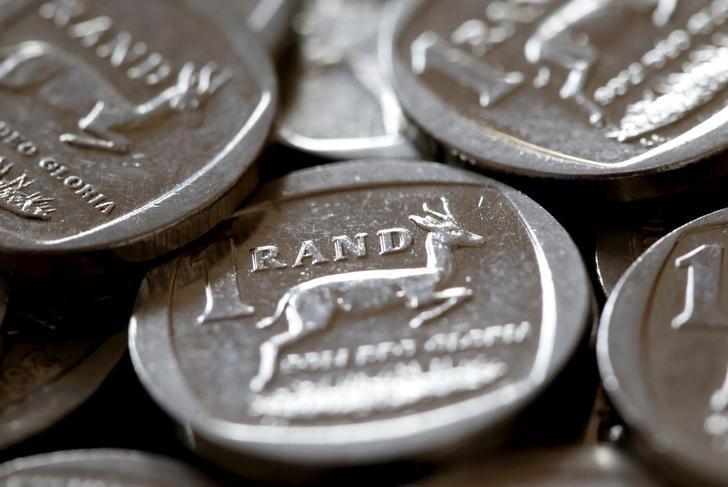 South African rand weakens as power cuts, weak data weigh
