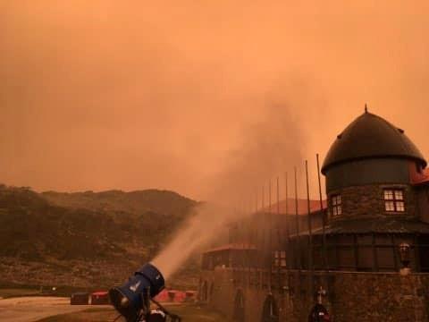 Australia's bushfires make massive clouds of pollution