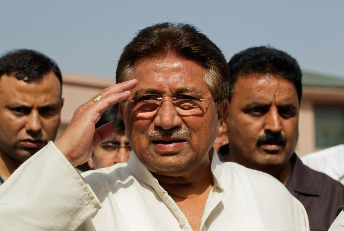 Pakistani judges rule special court in Musharraf case was unconstitutional