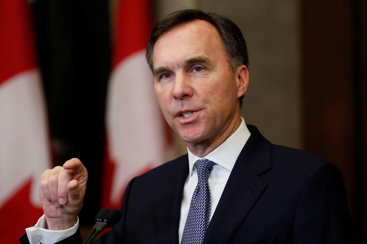Climate change to be key element in next Canadian budget: finance...