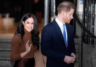Harry and Meghan to 'step back' from being senior royals
