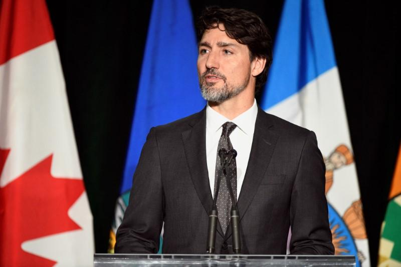 Canada's Trudeau: Iran plane victims would be alive had there been...
