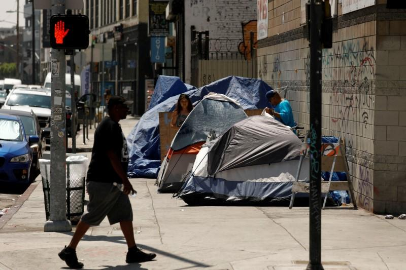 Image result for dirty homeless tent cities