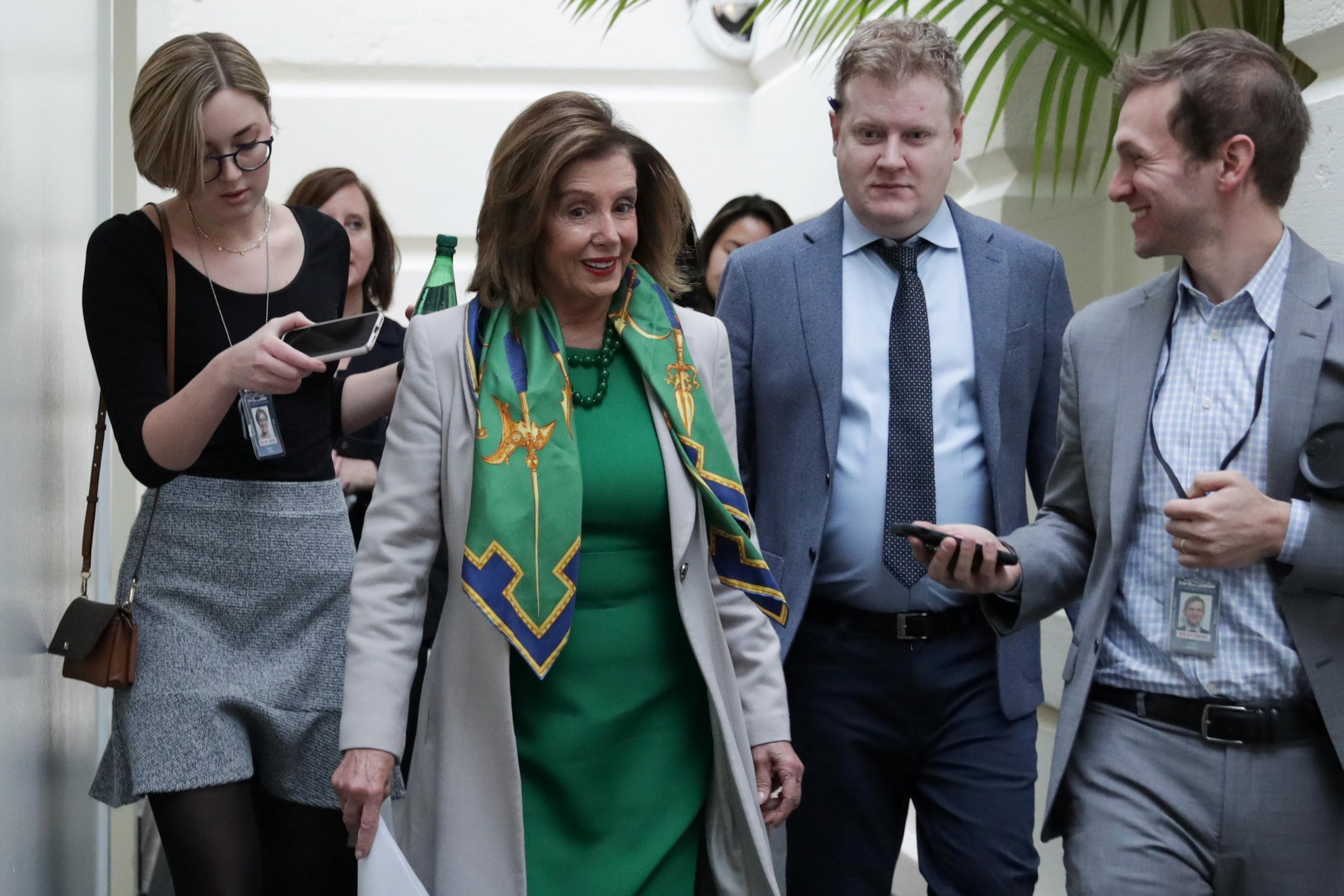 La Chambre enverra des accusations de destitution au Sénat après des semaines de retard