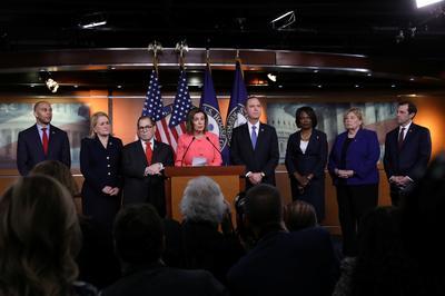 Who are the seven Democrats who will prosecute Trump in Senate trial?