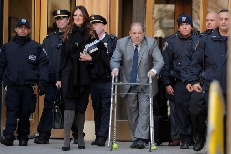 Weinstein seeks last minute New York trial delay, change of location