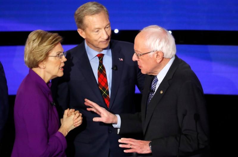 U.S. debate mystery solved: Warren told Sanders he called her a liar on national TV