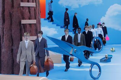 Louis Vuitton at Men's Fashion Week in Paris