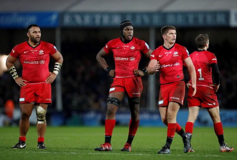 Rugby: Saracens accept further 35-point deduction, to be relegated...