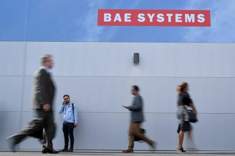 BAE spends $2.2 billion to boost U.S. electronic systems business