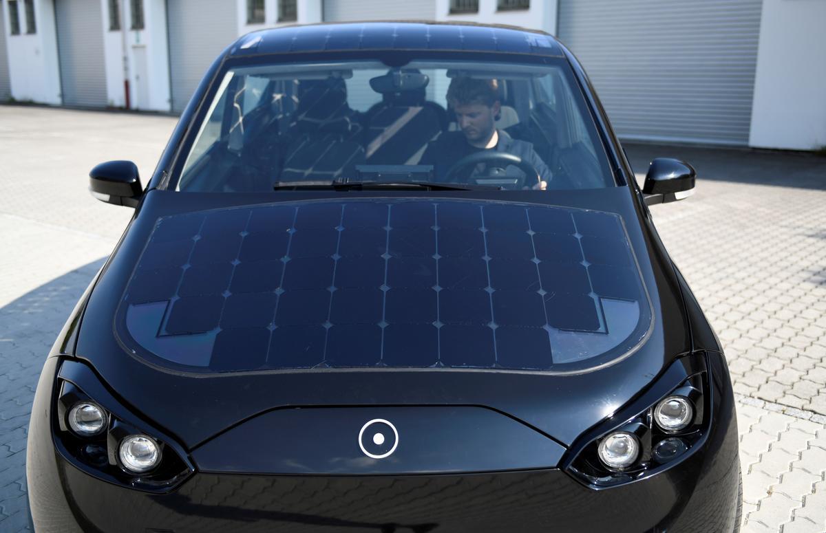 Germany's Sono says has raised 50 million euros for solar powered car