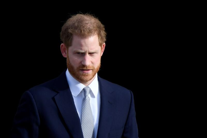 Britain's Prince Harry attends Africa conference in London
