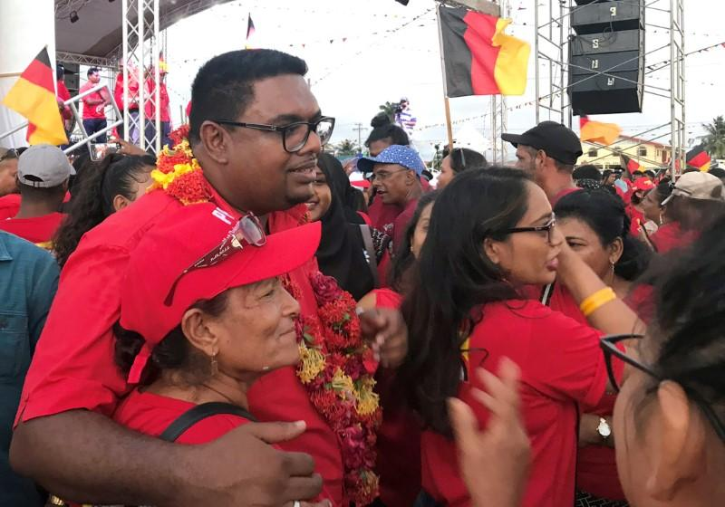 Guyana opposition candidate pledges to keep Exxon contract intact
