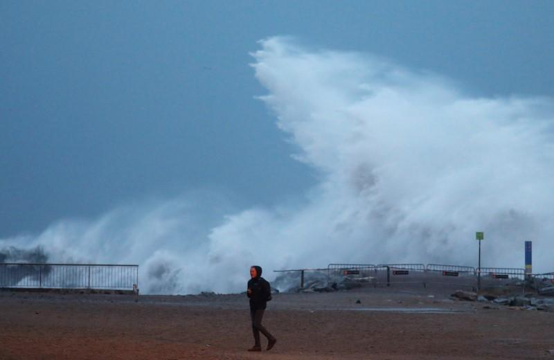 Four die as storm sweeps across Spain