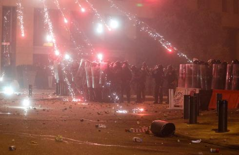Lebanon security forces clash with protesters