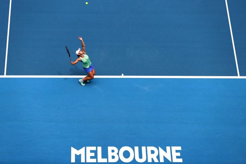Highlights: Day three at the Australian Open
