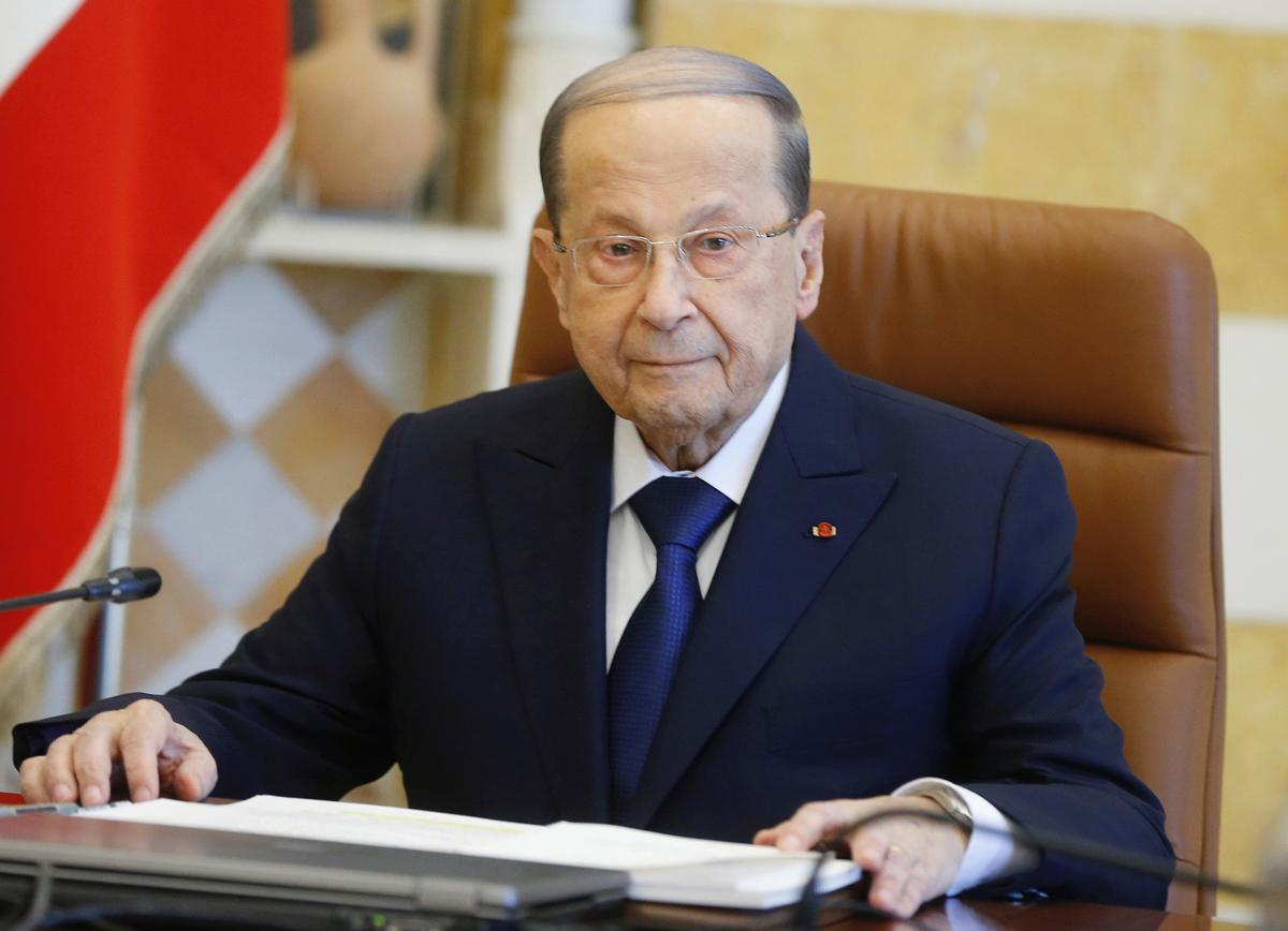Lebanon Aoun tells government must restore trust, make up for lost time