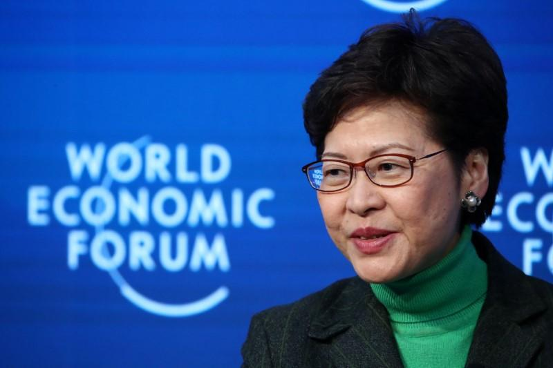 Hong Kong leader Lam insists to stay on to tackle crises