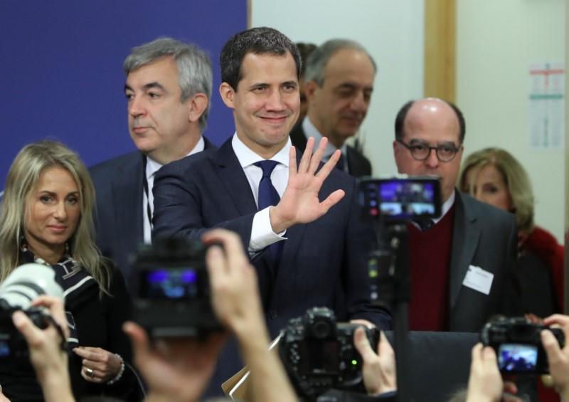 Venezuela's Guaido will seek to return to Caracas after European tour